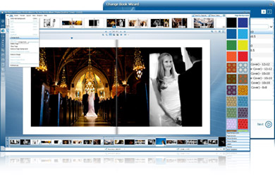Photo album software